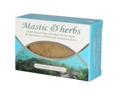 Натуральное мыло с мастикой и морскими водорослями MASTIC & HERBS 125 гр.