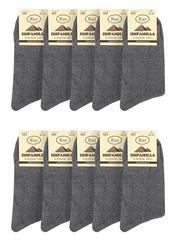 M5-1 носки мужские (10шт), серые