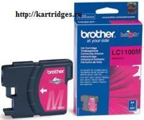 Картридж Brother LC1100M