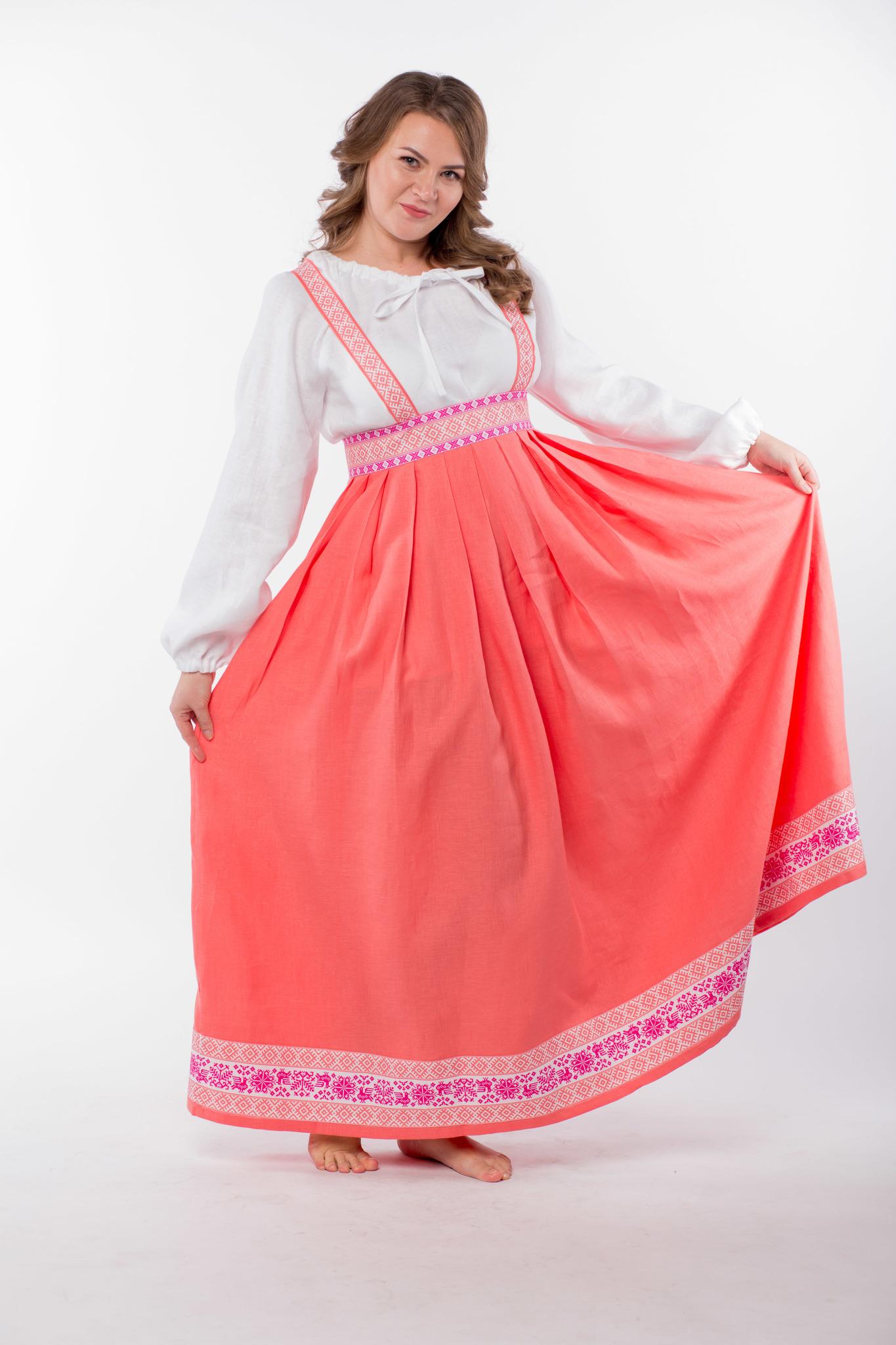 Сарафан подгрудный Орепей размер 48-50 юбка
