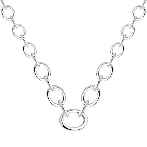 94070354 - Колье из серебра