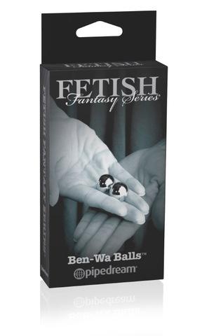 Металлические вагинальные шарики тяжелые Ben Wa Balls (2 см.; вес 2 х 28,3 гр.)