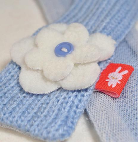 Зайка Ми в голубом шарфике (малая)
