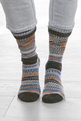 Носочная пряжа Gruendl Hot Socks Simila 404 купить