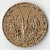 1977 SR1910 Западные африканские Штаты 5 франков