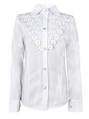 0326 блузка детская, белая