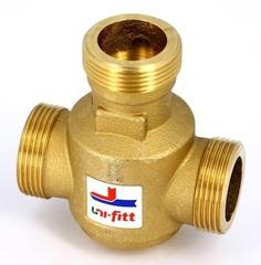 3-ходовой термостатический клапан Uni-Fitt 1