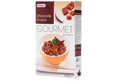 Мюсли Брюгген Гурман хрустящие шоколадные, 375г