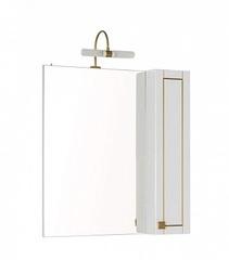 Зеркало-шкаф Aquanet Честер 75 белый золото