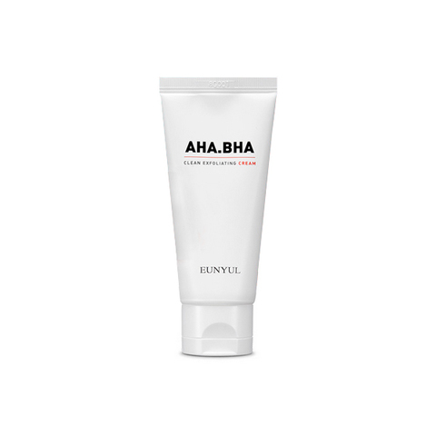EUNYUL AHA BHA Clean Exfoliating Cream Обновляющий крем с AHA и BHA кислотами для чистой кожи  50 гр