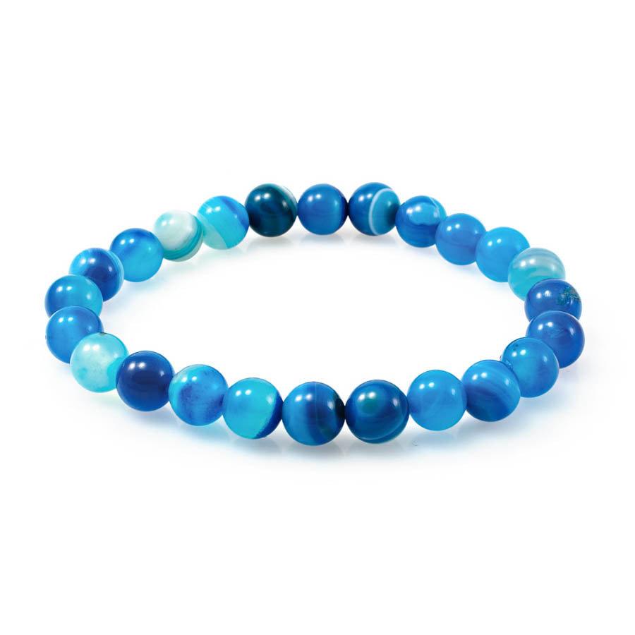 Коллекция Classic Браслет из камней голубого агата braslet-iz-kamney-golubogo-agata.jpg