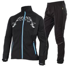 Женский ветрозащитный костюм One Way Julie-Gamber (OWW0000430-OWW0000423) черный