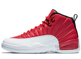 Кроссовки Мужские Air Jordan 12 Retro Jumpmen White Red