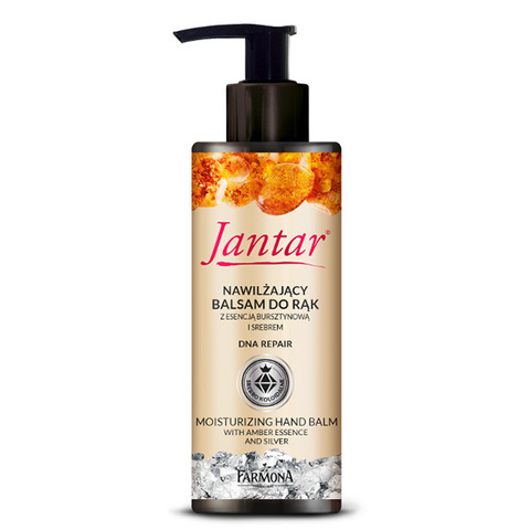 Farmona Бальзам для рук с серебром и экстрактом янтаря Jantar Moisturizing Hand Balm with Amber Essence and Silver 100мл