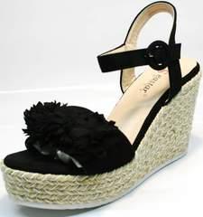 Модная обувь на платформе Seastar YQ213black.