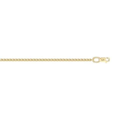 581010352 - Цепь из золота плетенией двойной ромб