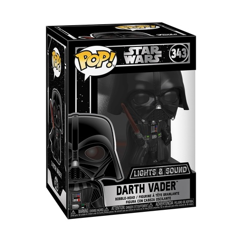 Фигурка Funko POP! Bobble: Star Wars: Darth Vader E 35519