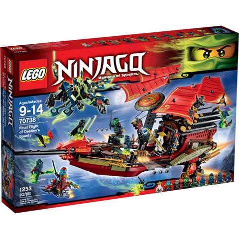 LEGO Ninjago: Корабль «Дар судьбы». Решающая битва 70738 — Final Flight of Destiny's Bounty — Лего Ниндзяго