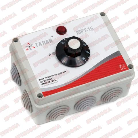 Регулятор температур электро-механический Галан МРТ 15
