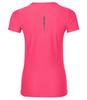Легкая тренировочная футболка для женщин от Асикс розовая для бега и фитнеса