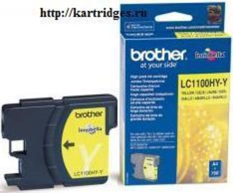 Картридж Brother LC1100HYY