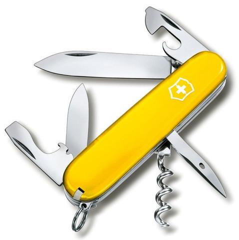 Складной нож Victorinox Spartan Yellow (1.3603.8R) 91 мм., 12 функций, цвет жёлтый
