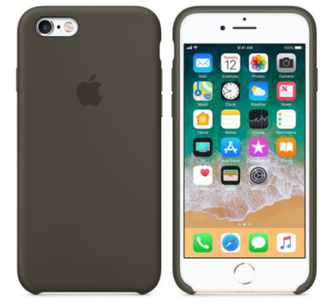 iPhone 6/6s Silicone Case  Dark Olive