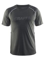 CRAFT PRIME RUN мужская футболка для бега серая