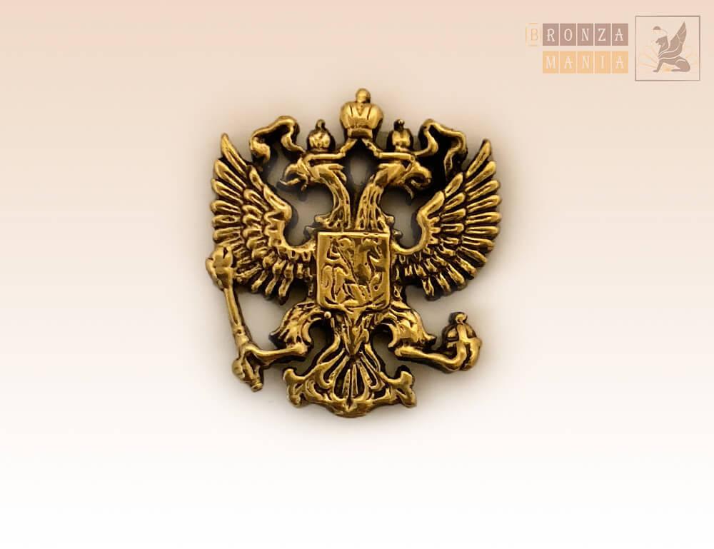 магнит Герб России 2х2 см