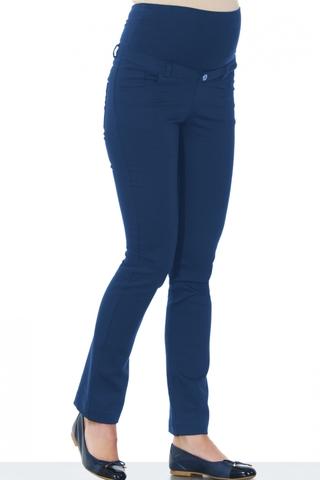 Брюки 02703 синий