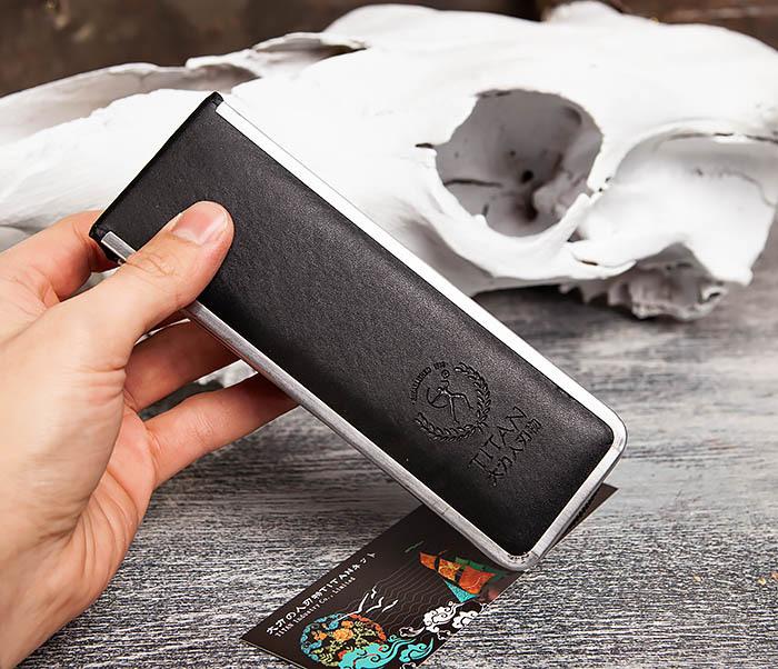 RAZ416-1 Традиционная опасная бритва Titan из стали (черная) фото 14