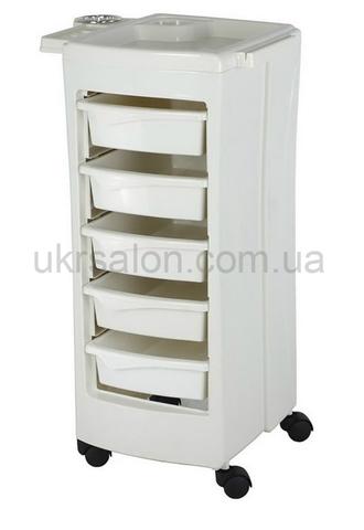 Парикмахерская тележка Pomocnik CAPRI White