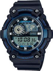 Мужские японские наручные часы Casio AEQ-200W-2AVDF
