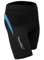 Шорты обтягивающие Nordski Premium Run Black-Aquamarine женские