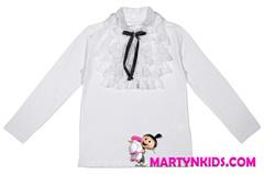 AD5306 блузка с бантом