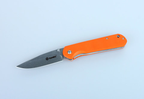 Складной нож Ganzo G6801 Оранжевый