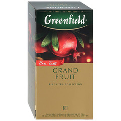 "Чай чёрный ""Greenfield"" Grand Fruit 25*1,5г"