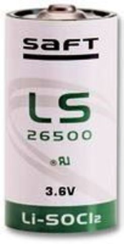 Батарейка литиевая LS 26500 / C SAFT 3.6V 7700 mAh