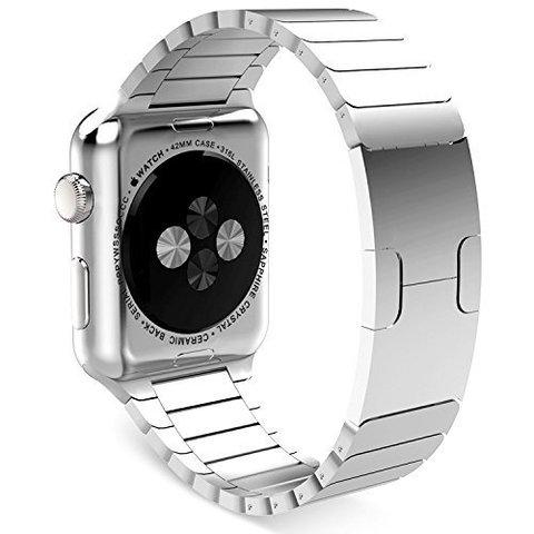 Ремешок Apple watch 38/40mm Link Bracelet /silver/ серебро