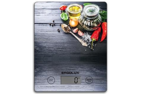 Весы кухонные Ergolux ELX-SK02-С02 черный