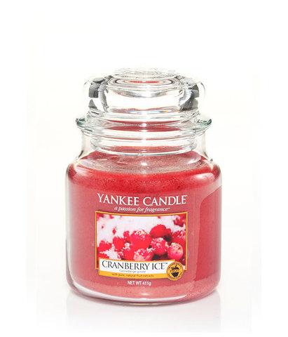 Ароматическая свеча Клюква со льдом, Yankee Candle
