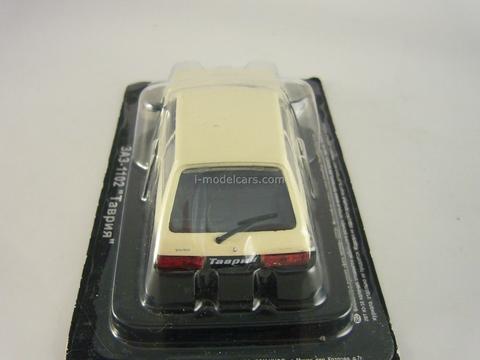 ZAZ-1102 Tavria light beige 1:43 DeAgostini Auto Legends USSR #63