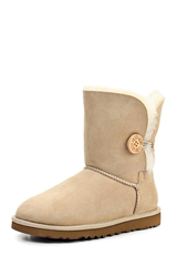 Угги UGG Bailey Button Bling Sand
