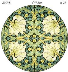 Эскиз для росписи, Круг диаметр-47,5см, SMAR-st-29