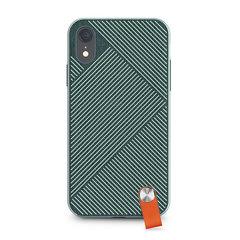 Чехол Moshi  Altra с ремешком на запястье для iPhone XR. Материал пластик. Цвет зеленый лес.