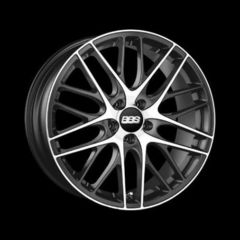 Диск колесный BBS CS 7.5x17 5x108 ET45 CB82.0 satin platinum/diamond cut