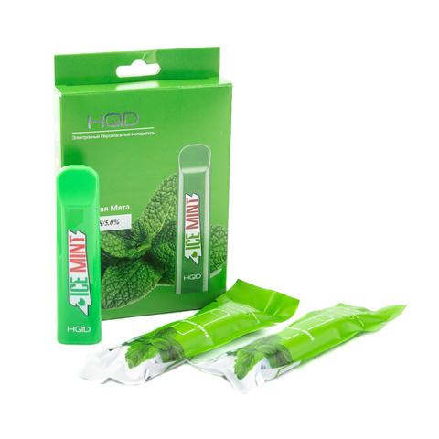 Одноразовая электронная сигарета HQD Cuvie Mint (Мята)