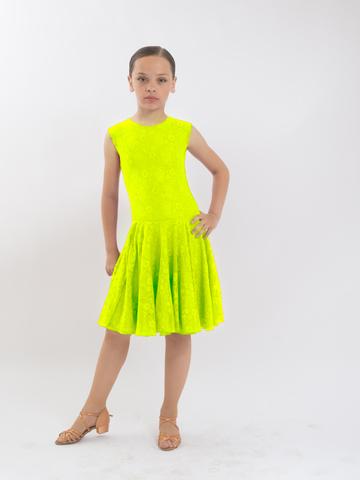 Рейтинговое платье Re4/2 - бифлекс с гипюром