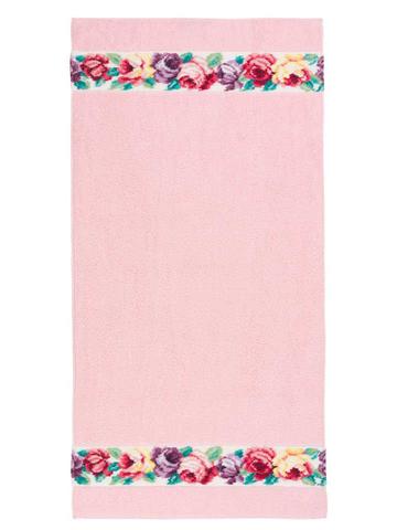 Полотенце 30x50 Feiler Sorrent weis розовое