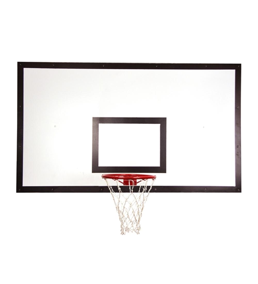 Баскетбольный щит с кольцом из фанеры